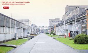 nhà máy lọc nước cleansui tại Nhật