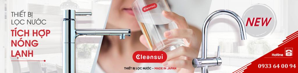 Máy lọc nước Cleansui EU201 EU202