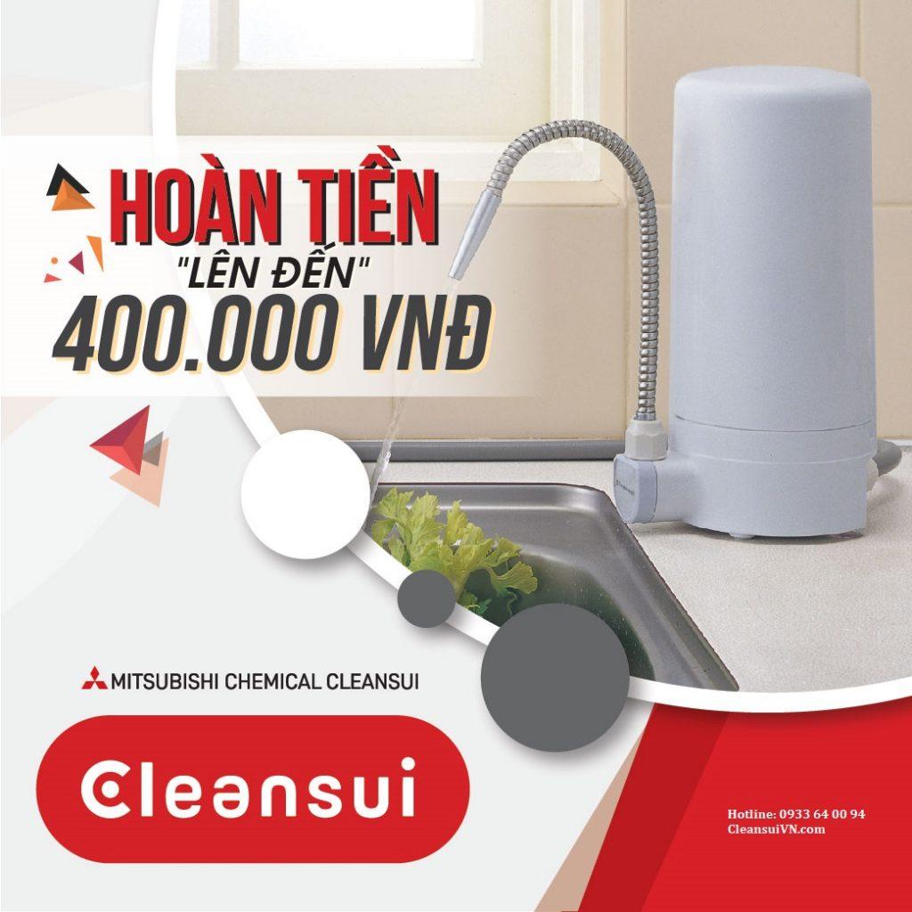 Khuyến mãi máy lọc nước Cleansui Z9E / ET101